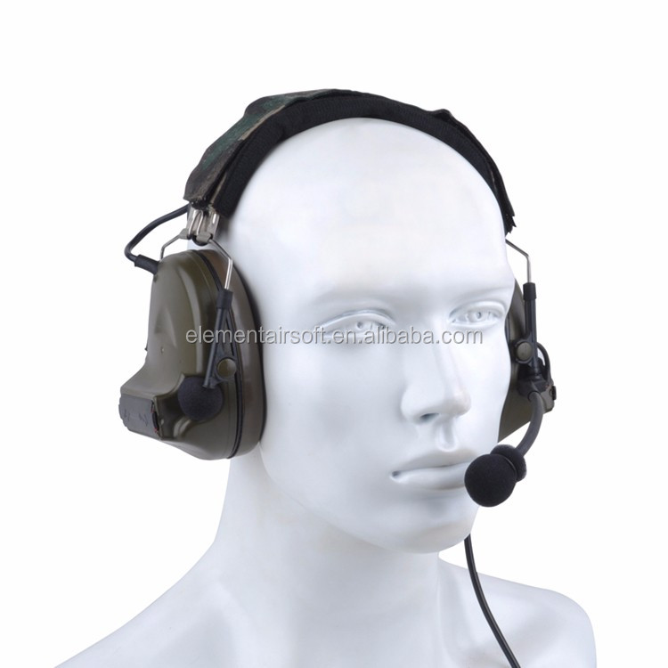 Z tactical Comtac II headset noise cancelling military headphones Hearing Protector Ear Protection gun headphones