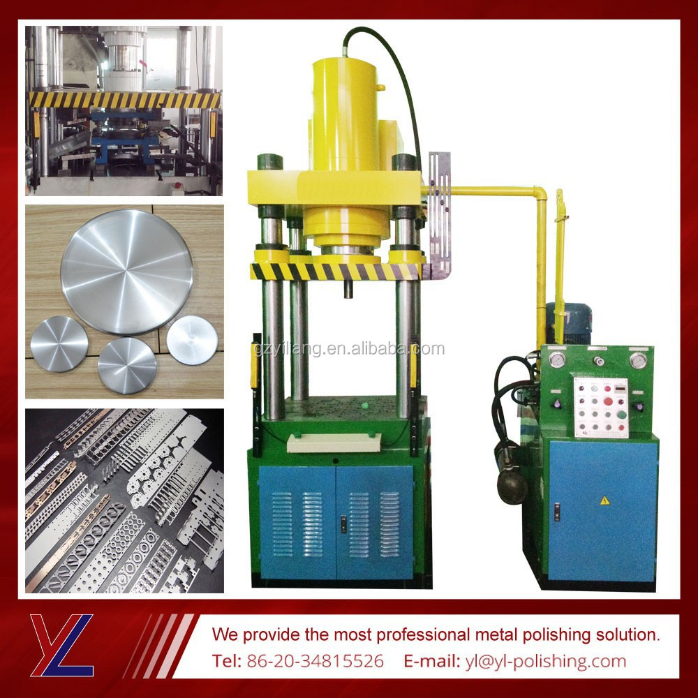 copper alloy round and square sheet continuous punching oil press with electric box