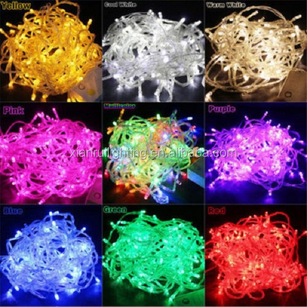 100 bule led bulb light tree decoration led christmas string light christmas lampscapes outdoor light