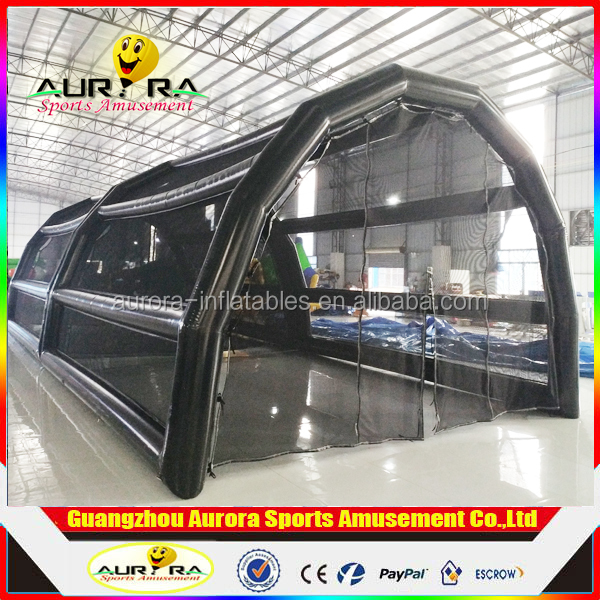 The most popular multi-purpose inflatabe soccer field custom made inflatable batting cage inflatable batting cage for sale