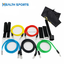 Main 11 pcs peaces yoga exercise loop resistance bands wholesale