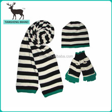 hot sale wholesale scarf and hat set
