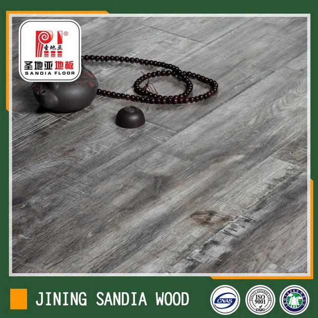 8mm Float Installation Cracking German Laminate Floor / Cheap Oak Wood Parquet Laminate Flooring Prices From China