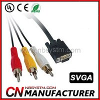 VGA to 3 RCA Component Cable