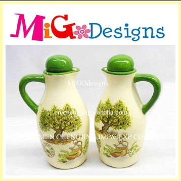 New Product Handpainted Fruit And Vinegar Decoration Bottle