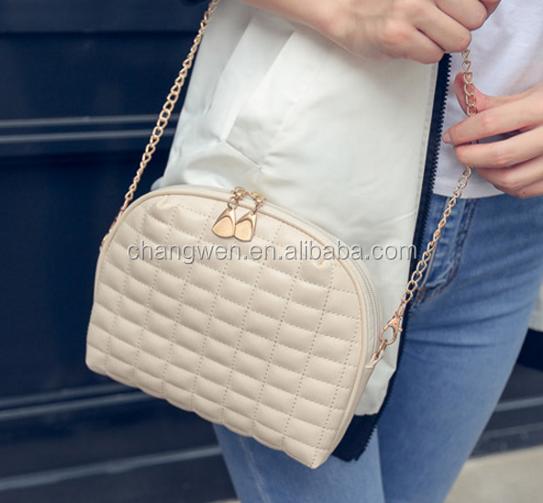 grid bags 2017 new design lady fashion Lady Shoulder Bags Design Purse Case pu leather handbag china suppliers