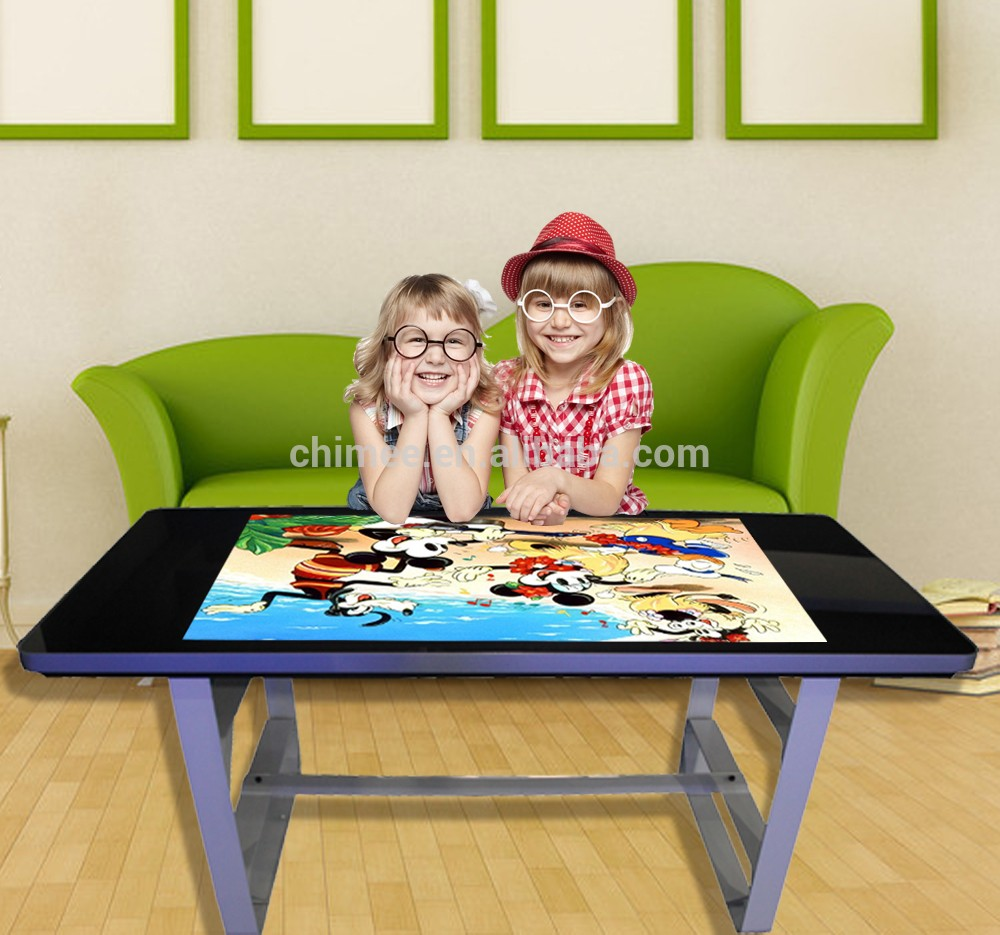 Waterproof! interactive multi touch table IR touch screen touch table