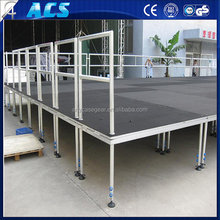 ACS four legs stage/roof truss design with four leg stage/stage lighting