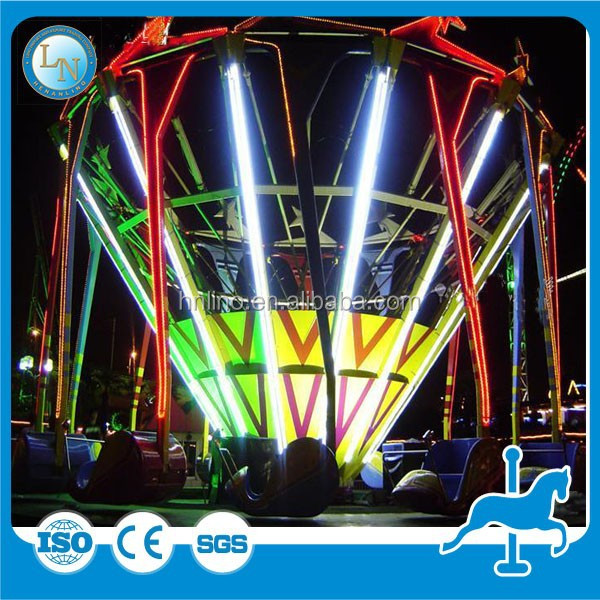 Outdoor cheap rides amusement park equipment Super Swing for adults