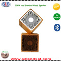2017 wholesale discount natural bluetooth bamboo wood speaker manufacturer BSW21