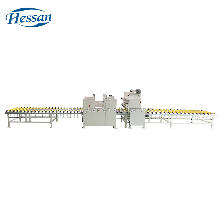 Latest design high quality woodworking profile wrapping acrylic machine
