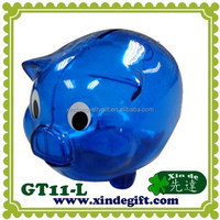 Large plastic piggy coin bank, Saving Bank, Piggy Bank, Money Box - Hucha - coin bank