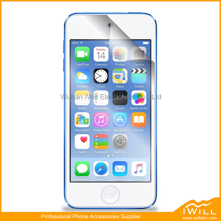 Ultra Slim Three Layers Protective Film Mobile Phone Protector For ipod Touch 6 Screen Guard