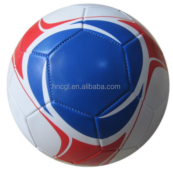 Cheapest price machine sewn PVC soccer ball factory