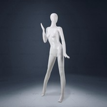 No wig egg face Full-Body fiberglass dancing female mannequin