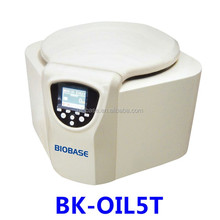 Biobase China Cheap Lab Medical Equipment CE Confirmed Lab Using LCD Crude Oil Test Centrifuge Price