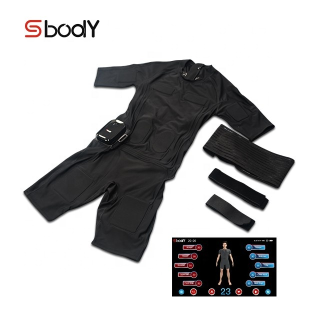 S body ems fitness suit gym vest wireless