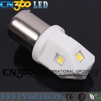 New design 1156 car led driving light white/ yellow/ red colour with 6pcs Seoul chips Ceramic LED Bulb driving light
