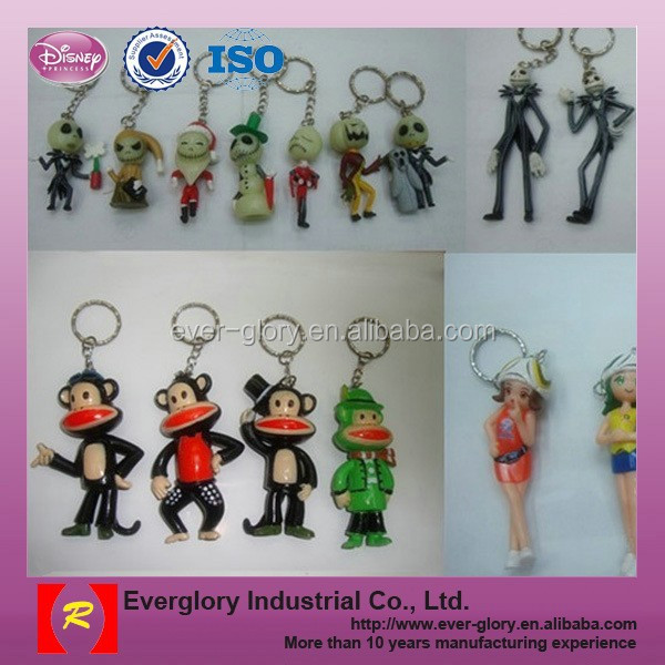 2014 Brazil World Cup Promotion Gift,PVC and plastic keychain