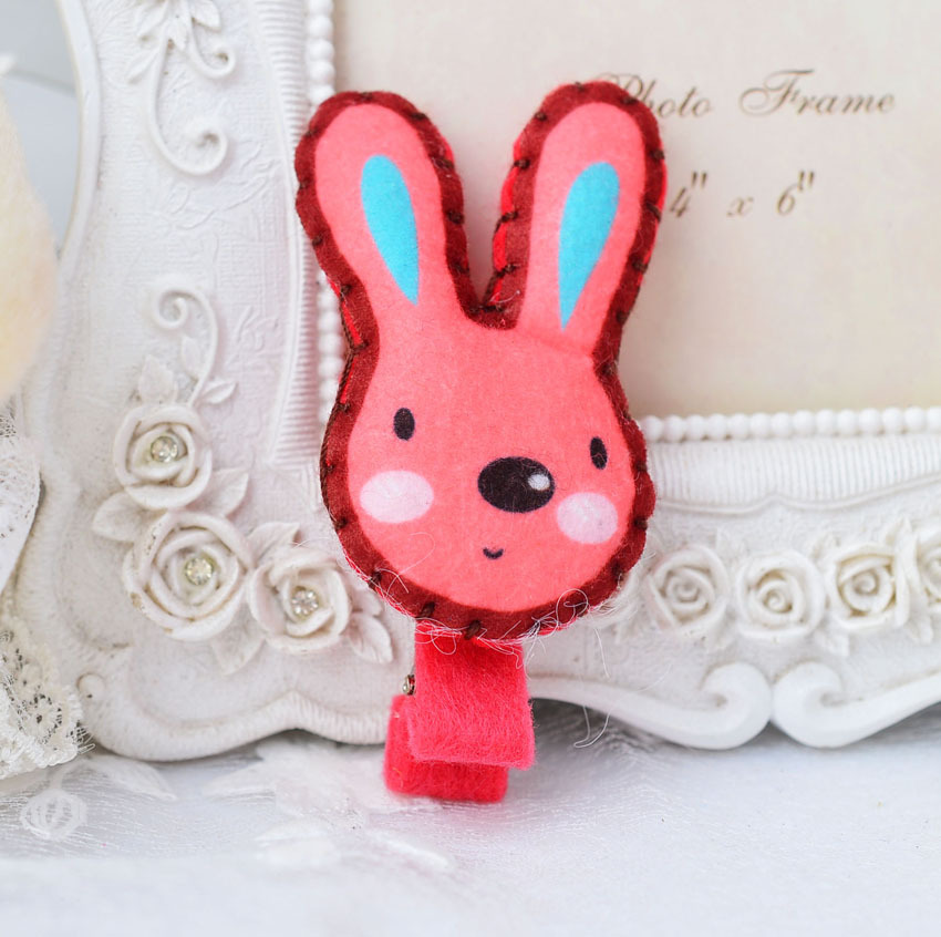 Children's <strong>hair</strong> <strong>accessories</strong> hairpin cute rabbits cotton filling <strong>hair</strong> <strong>accessories</strong> AHC448-1