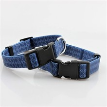 Wholesale heat transfer printing top paw dog collars for small medium large dogs