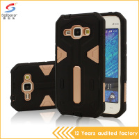 Factory price fancy tpu pc waterproof amror phone case for Samsung J1