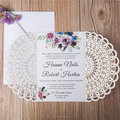 Traditional Laser Cut Wedding Invitations