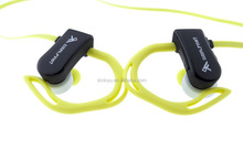 SPORT PULSE Wireless Bluetooth Stereo Earbuds with Built-In Heart Rate Monitor
