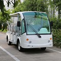 CE approved 14 seats electric shuttle bus in airport DN-14