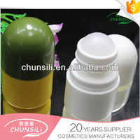 innovative empty plastic roller oil packaging