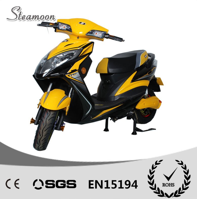 2016 Newest Yellow 60V20AH 1000W Battery 10' motor scooters with CE Certification