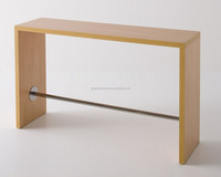 CT-3162 paper coating mdf console coffee table