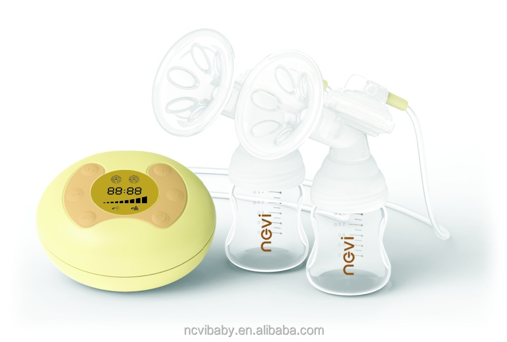 FDA new baby born gift set baby feeding products electric vacuum breast pump milk with baby feeding