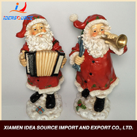 High quality resin sculpture natural christmas crafts