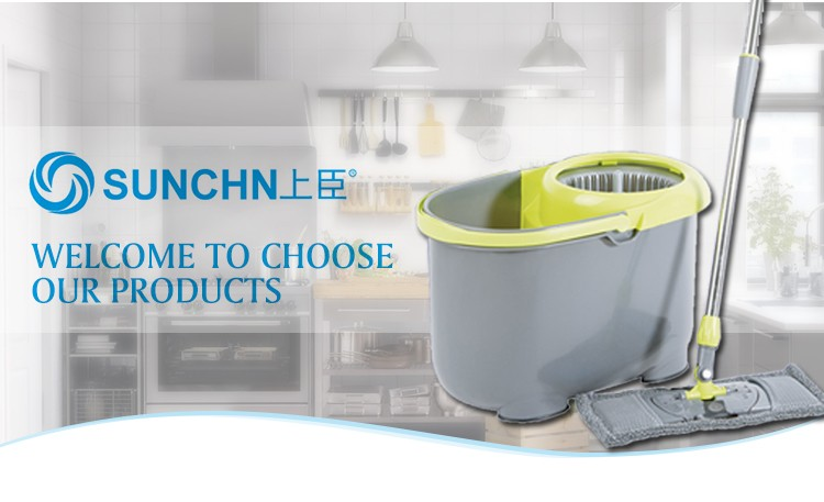 SUNCHN SCM-01 Hot Sale 360 microfiber Twist Mop