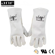 Wholesale cow leather electrical insulation <strong>safety</strong> soldering gloves