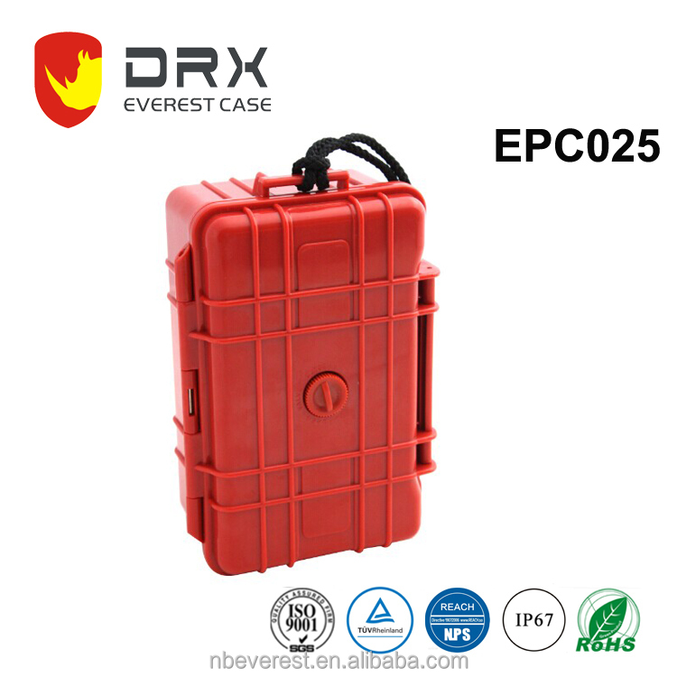 Ningbo everest EPC025 IP67 hard plastic waterproof military case