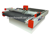 IECHO Automatic CNC Fabric Cutting Table with Oscillating Knife / Blade Cutting Solution