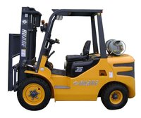 3.5T Gas Forklift Engine Nissan with full free mast 4.5meter