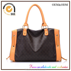China Factory Customize Cheap 2016 Hot Unisex Latest Fashion Leather Bucket Bag Handbag New Product Motorcycle Bag Tote bag