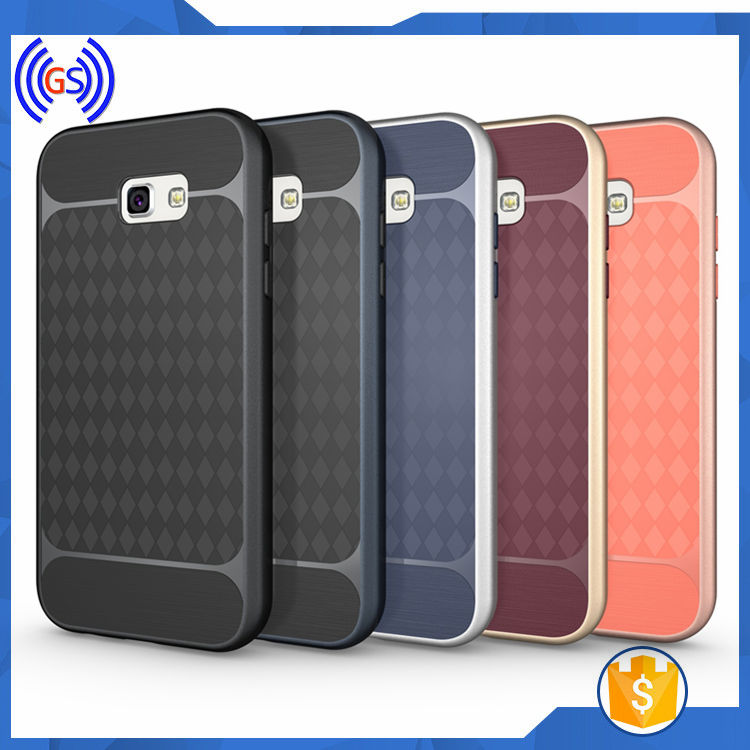 PC TPU Bumper Case For Samsung A5 2017 Mobile Phone Case Wholesale,Combo Case For Samsung Galaxy A5 2017