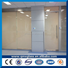 energy saving tempered glass switchable smart window pdlc film for smart glass in office partition wall