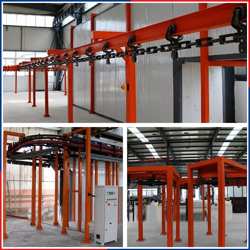 aluminum mirror vacuum automatic powder coating line
