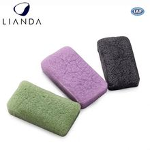 Removes excess oil konjac material makeup sponge, bamboo charcoal konjac sponge, konjac sponge organic for deep clean