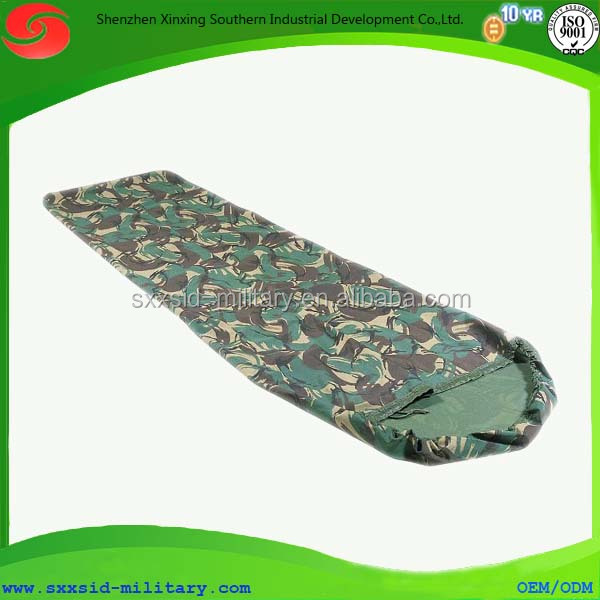 Hot new design outdoor military camo sleeping bag army tactical slumber bag