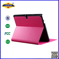 for galaxy tab 4 10.1,leather flip case cover for tab 4 10.1 Laudtec