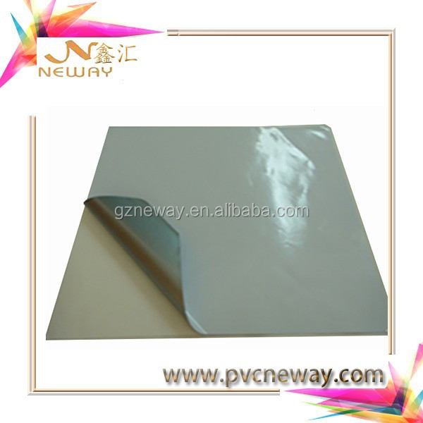 Neway grey glue /air bubble free/casting self adhesive vinyl for digital printing