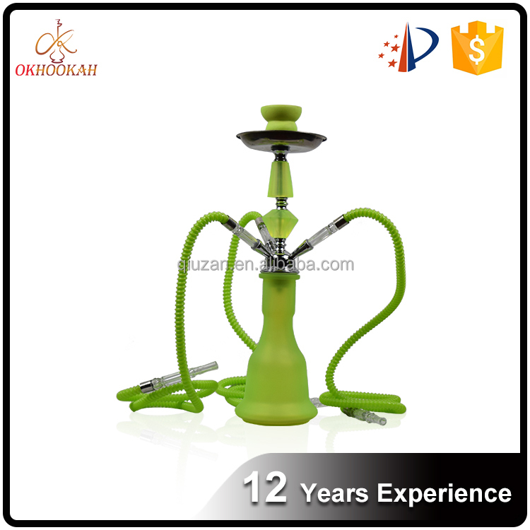 Wholesale High Quality Colorful AK47 Hookah With Three Hose
