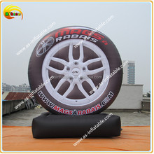 2016 super quality inflatable tire balloon advertising