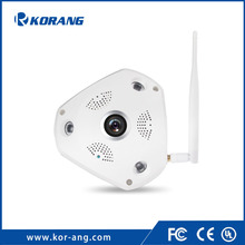 3.0 Megapixel 360 Degree Home Security P2P Cloud Mobile Fisheye Wifi IP Camera